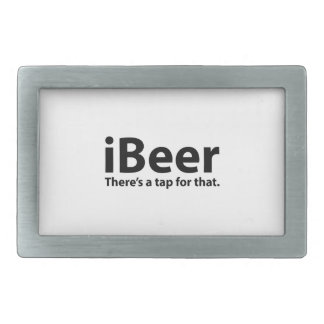 iBeer There's A Tap For That Rectangular Belt Buckles