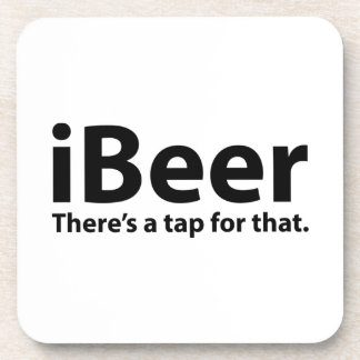 iBeer There's A Tap For That Drink Coaster