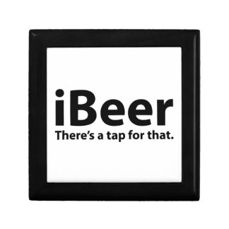 iBeer There's A Tap For That Jewelry Boxes