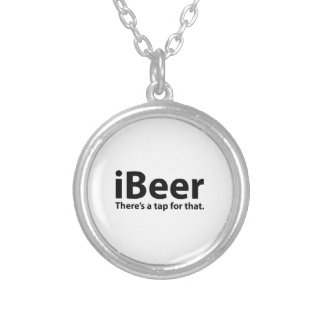 iBeer There's A Tap For That Necklaces