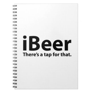 iBeer There's A Tap For That Note Book