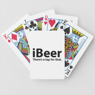 iBeer There's A Tap For That Deck Of Cards