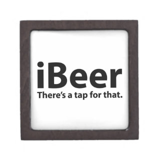 iBeer There's A Tap For That Premium Jewelry Boxes