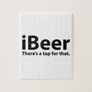 iBeer There's A Tap For That Jigsaw Puzzles