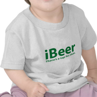 iBeer There's A Tap For That Tee Shirt