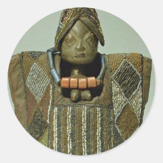Ibeji figure, Yoruba people, Nigeria Stickers