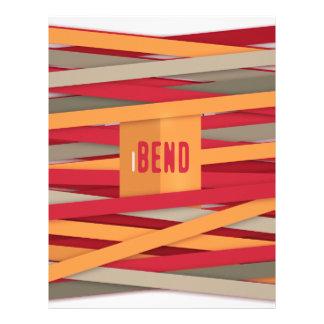 iBend - modelo con los cordones impresionantes Plantilla De Membrete