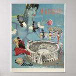 """Iberia Vintage """"Madrid"""" Posters"""