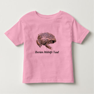 Iberian Midwife Toad Toddler T-shirt