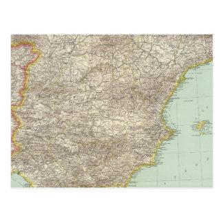 Iberian Peninsula Postcard
