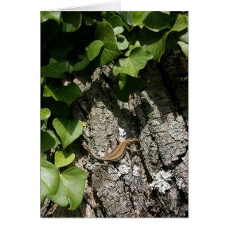 Iberian Rock Lizard Card