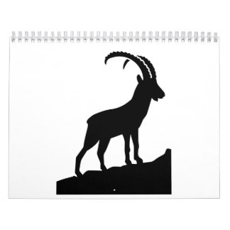 Ibex capricorn wall calendar