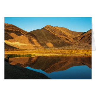 Ibex Hills Reflection Card