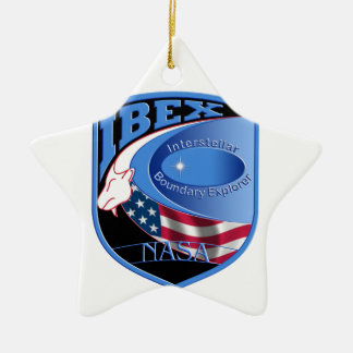 IBEX – Interstellar Boundary Explorer Double-Sided Star Ceramic Christmas Ornament