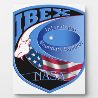 IBEX – Interstellar Boundary Explorer Plaque