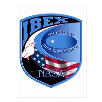 IBEX – Interstellar Boundary Explorer Postcard