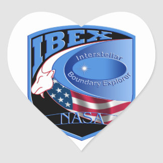IBEX – Interstellar Boundary Explorer Heart Sticker