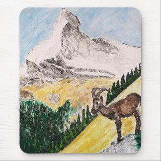Ibex Matterhorn Mouse Pad