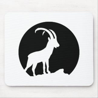 Ibex moon mouse pad