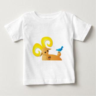 Ibex ram and bird baby T-Shirt