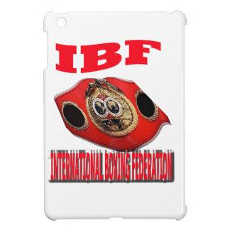 IBF Championship Boxing Belt iPad Mini Case