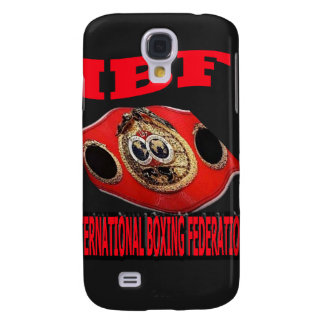 IBF Championship Boxing Belt With Background Galaxy S4 Case
