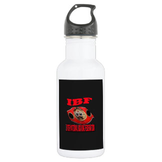 IBF Championship Boxing Belt With Background Water Bottle