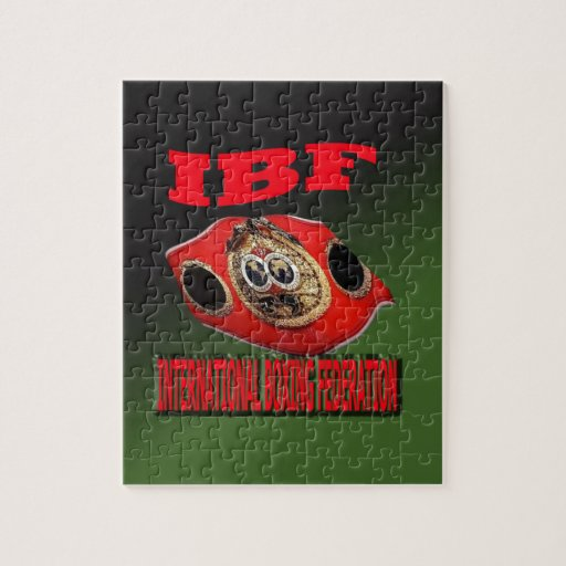 IBF Championship Boxing Belt With Etnic Background Jigsaw Puzzle