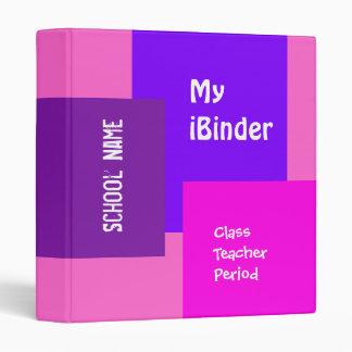 iBinder 8 en rosa y púrpura