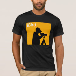 iBird Orange Men's Basic American Apparel T-Shirt