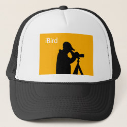 iBird Orange Trucker Hat