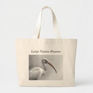 Ibis at Largo Nature Preserve Tote Bag
