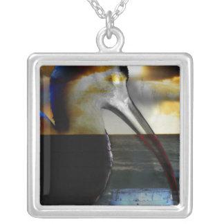 Ibis combinó con diseño aseado de la imagen de la colgante cuadrado