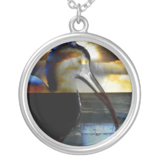 Ibis combinó con diseño aseado de la imagen de la colgante redondo