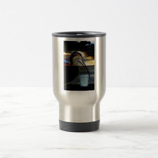 Ibis combinó con diseño aseado de la imagen de la  taza de viaje de acero inoxidable