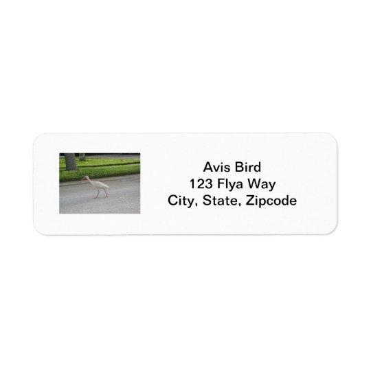 Ibis Walking Label