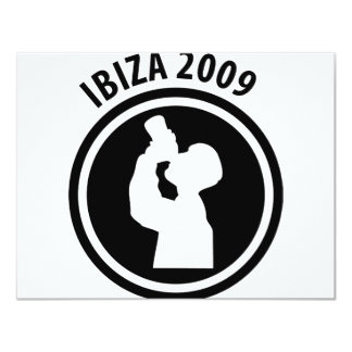 Ibiza 2009 drinker icon card