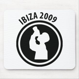 Ibiza 2009 drinker icon mouse pad