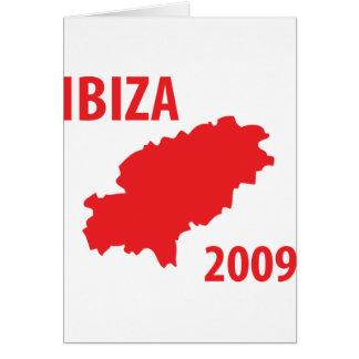 Ibiza 2009 icon card