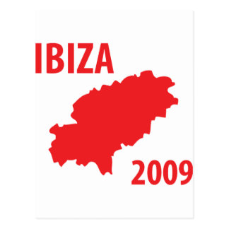 Ibiza 2009 icon postcard