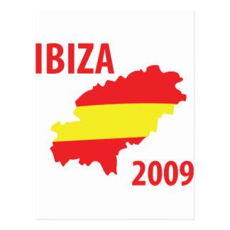 Ibiza 2009 postcard