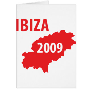 Ibiza 2009 symbol card