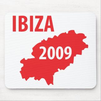 Ibiza 2009 symbol mouse pad
