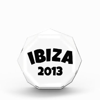 Ibiza 2013 acrylic award