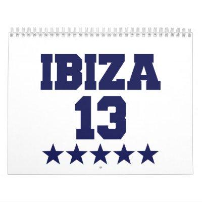 Ibiza 2013 calendarios