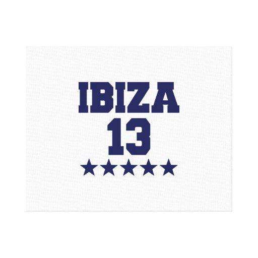 Ibiza 2013 canvas print