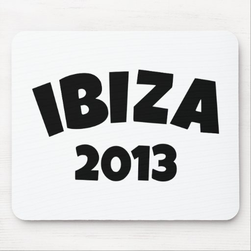 Ibiza 2013 mouse pad