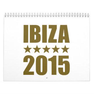 Ibiza 2015 calendar