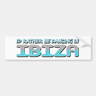 IBIZA BUMPER STICKER