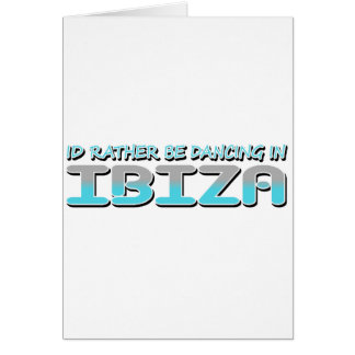 IBIZA GREETING CARDS